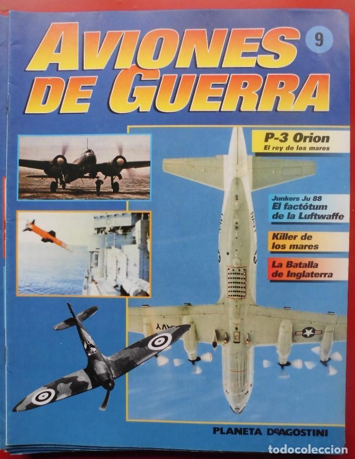 AVIONES DE GUERRA PLANETA AGOSTINI. FASCÍCULO Nº 9 (Militar - Revistas y Periódicos Militares)