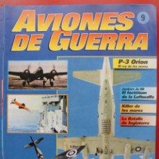 Militaria: AVIONES DE GUERRA PLANETA AGOSTINI. FASCÍCULO Nº 9. Lote 168795596