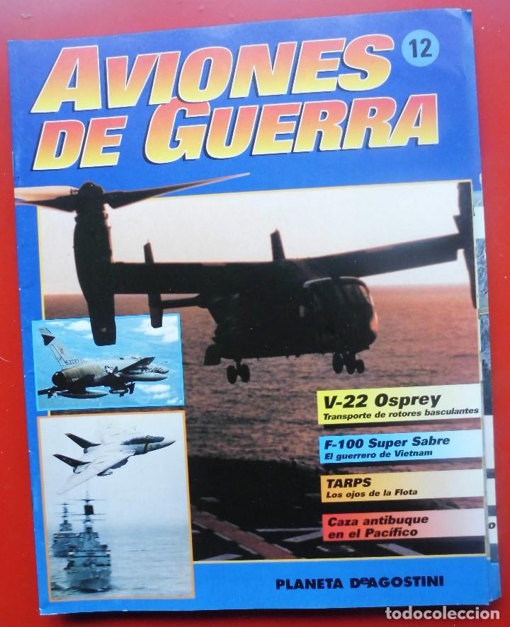 AVIONES DE GUERRA PLANETA AGOSTINI. FASCÍCULO Nº 12 (Militar - Revistas y Periódicos Militares)