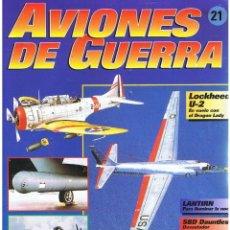 Militaria: AVIONES DE GUERRA PLANETA AGOSTINI. FASCÍCULO Nº 21. Lote 168877120