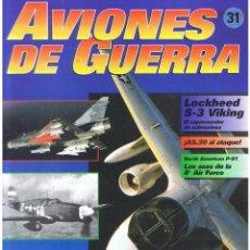 Militaria: AVIONES DE GUERRA PLANETA AGOSTINI. FASCÍCULO Nº 31. Lote 168892324