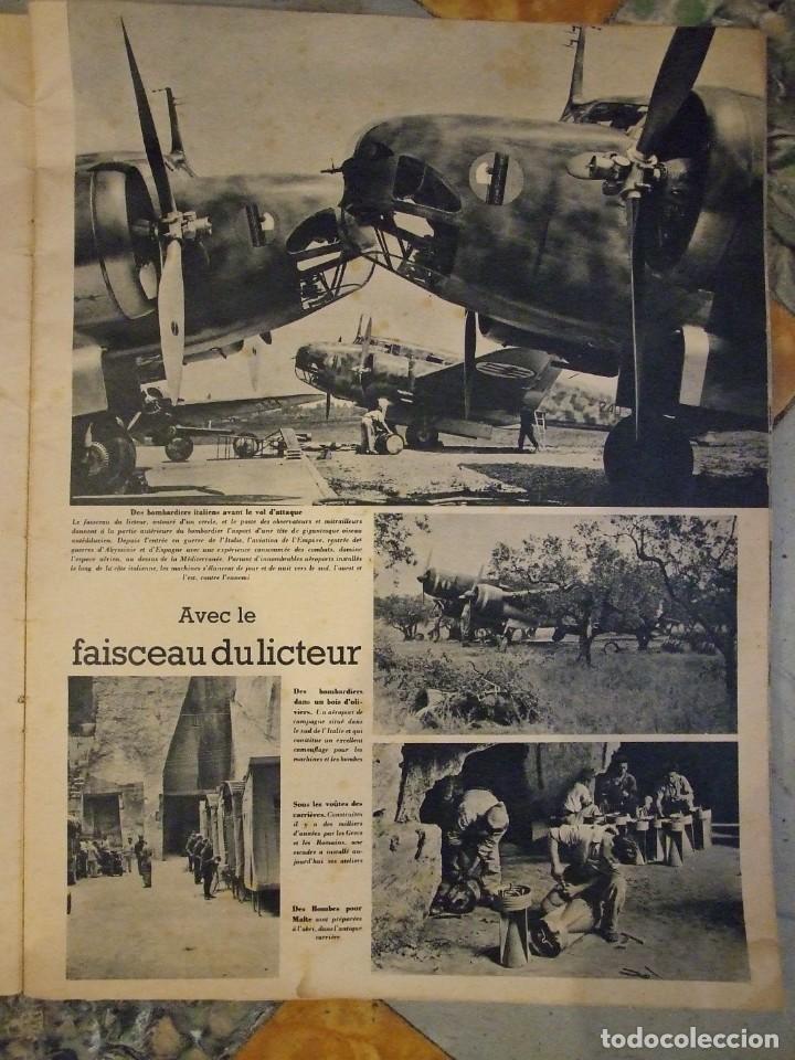Militaria: REVISTA SIGNAL Nº 9 EDICION FRANCESA - AÑO 1940 TAPAS CON ALGUNA ROTURA EN EL LOMO INTERIOR PERFECTO - Foto 4 - 169567576