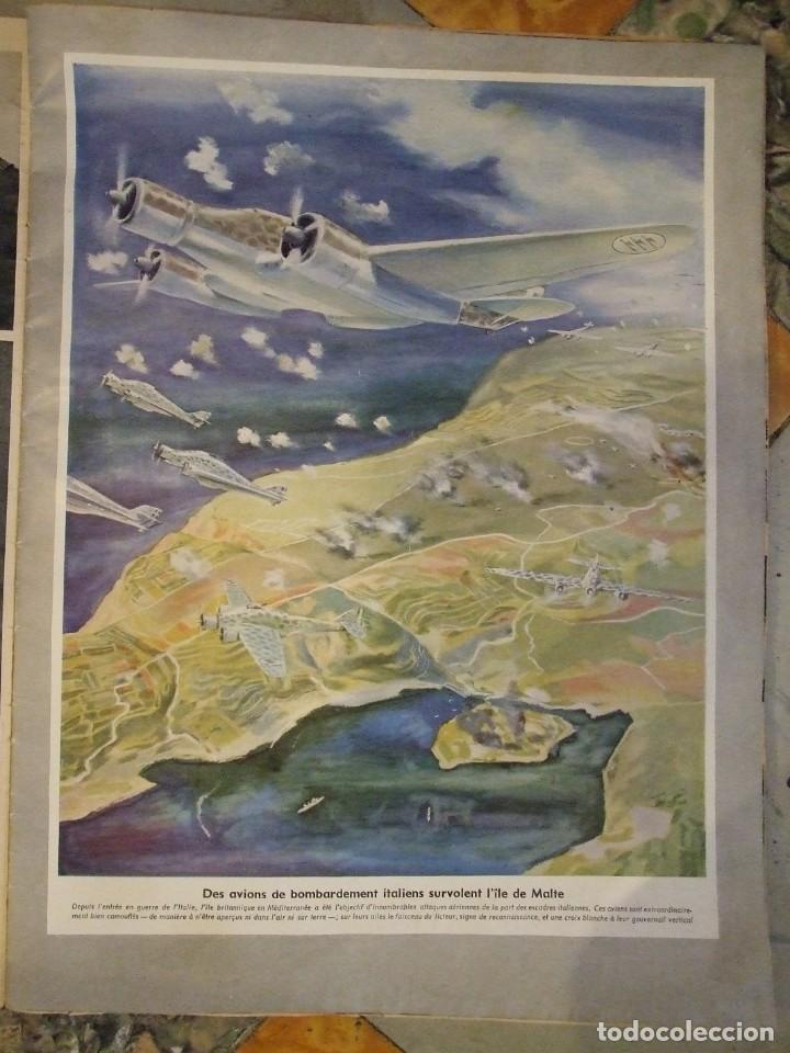 Militaria: REVISTA SIGNAL Nº 9 EDICION FRANCESA - AÑO 1940 TAPAS CON ALGUNA ROTURA EN EL LOMO INTERIOR PERFECTO - Foto 5 - 169567576