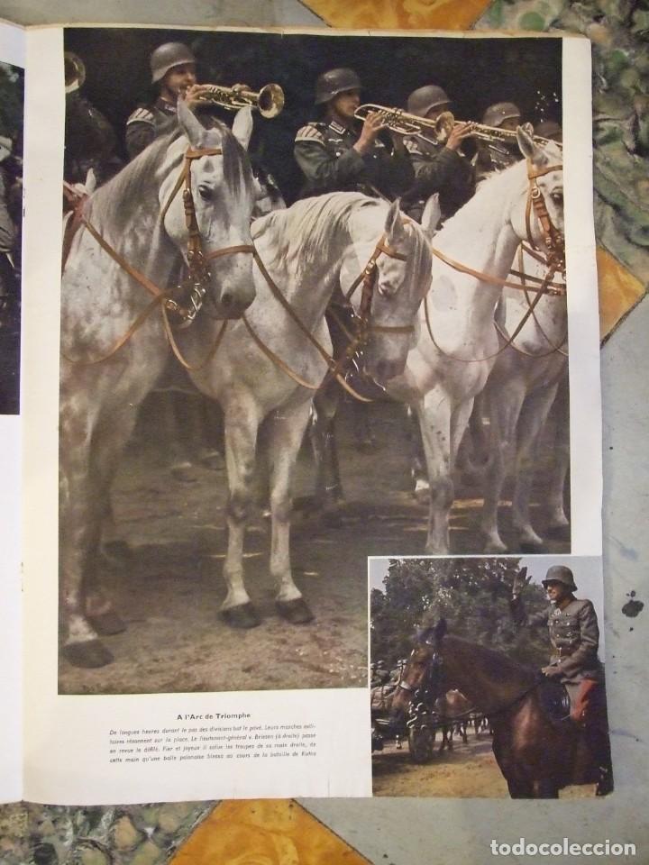 Militaria: REVISTA SIGNAL Nº 9 EDICION FRANCESA - AÑO 1940 TAPAS CON ALGUNA ROTURA EN EL LOMO INTERIOR PERFECTO - Foto 6 - 169567576