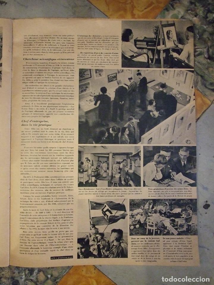 Militaria: REVISTA SIGNAL Nº 9 EDICION FRANCESA - AÑO 1940 TAPAS CON ALGUNA ROTURA EN EL LOMO INTERIOR PERFECTO - Foto 7 - 169567576