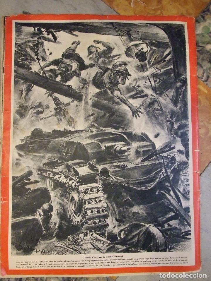 Militaria: REVISTA SIGNAL Nº 9 EDICION FRANCESA - AÑO 1940 TAPAS CON ALGUNA ROTURA EN EL LOMO INTERIOR PERFECTO - Foto 8 - 169567576