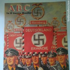 Militaria: FASCICULO LA SEGUNDA GUERRA MUNDIAL ABC NUMERO 44 LAS LEGIONES EXTRANJERAS DEL III REICH. Lote 169639294