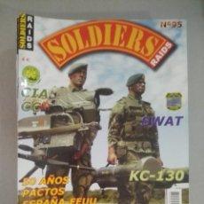Militaria: SOLDIERS RAIDS Nº 95. Lote 170036664