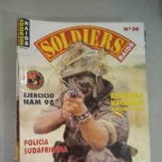 Militaria: SOLDIERS RAIDS Nº 39. Lote 170036728