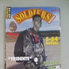 Militaria: SOLDIERS RAIDS Nº 51. Lote 170036984