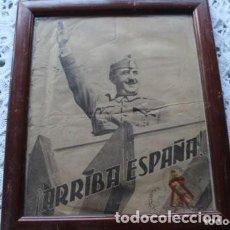 Militaria: FOTO DE UNA REVISTA DE FRANCO DE AÑO 1939 ( CON TRES SELLOS) . Lote 170836190
