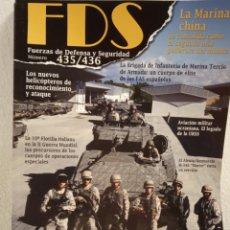 Militaria: FDS FUERZAS DE DEFENSA Y SEGURIDAD N°435/436 (2014). Lote 171149868