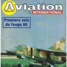 Militaria: AVIATION INTERNATIONAL Nº 738. Lote 171589064