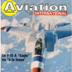 Militaria: AVIATION INTERNATIONAL Nº 742. Lote 171589497