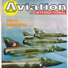 Militaria: AVIATION INTERNATIONAL Nº 744. Lote 171589697