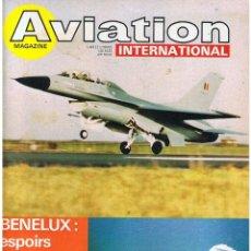 Militaria: AVIATION INTERNATIONAL Nº 750. Lote 171589822