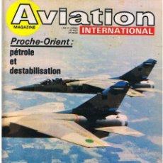 Militaria: AVIATION INTERNATIONAL Nº 751. Lote 171589937