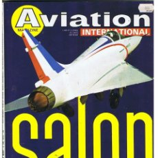 Militaria: AVIATION INTERNATIONAL Nº 755. Lote 171590165