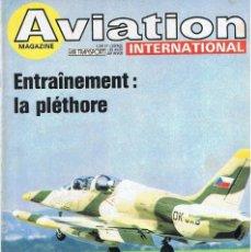 Militaria: AVIATION INTERNATIONAL Nº 775. Lote 171590287