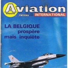 Militaria: AVIATION INTERNATIONAL Nº 791. Lote 171590733