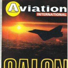 Militaria: AVIATION INTERNATIONAL Nº 803. Lote 171669710