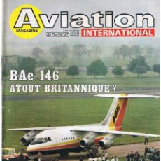Militaria: AVIATION INTERNATIONAL Nº 804. Lote 171669817