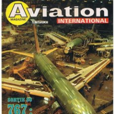 Militaria: AVIATION INTERNATIONAL Nº 807. Lote 171670027