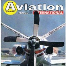 Militaria: AVIATION INTERNATIONAL Nº 812. Lote 171670333