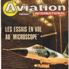 Militaria: AVIATION INTERNATIONAL Nº 813. Lote 171670430