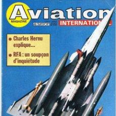 Militaria: AVIATION INTERNATIONAL Nº 826. Lote 171671633