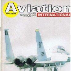 Militaria: AVIATION INTERNATIONAL Nº 838. Lote 171673287