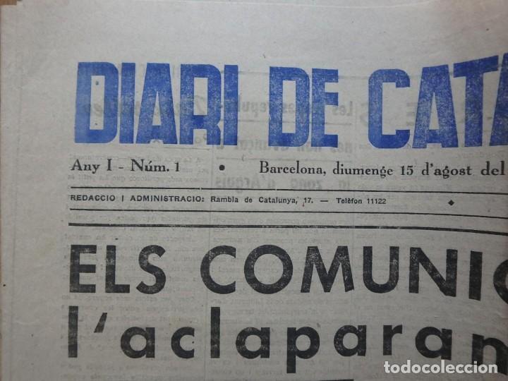 Militaria: (JX-190796)Lote de seis periódicos , Guerra Civil Española , años 1936-37 y 38 . - Foto 14 - 171810574