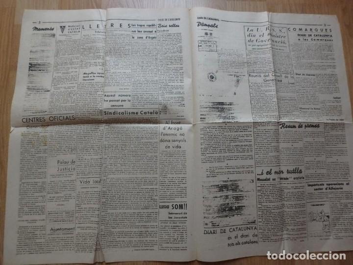Militaria: (JX-190796)Lote de seis periódicos , Guerra Civil Española , años 1936-37 y 38 . - Foto 15 - 171810574