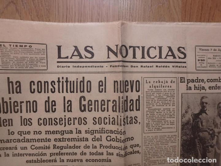 Militaria: (JX-190796)Lote de seis periódicos , Guerra Civil Española , años 1936-37 y 38 . - Foto 17 - 171810574