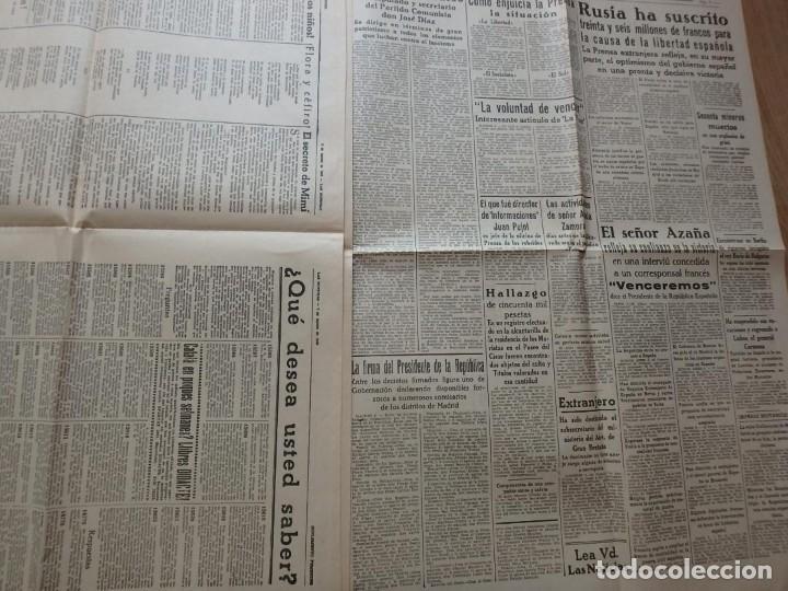 Militaria: (JX-190796)Lote de seis periódicos , Guerra Civil Española , años 1936-37 y 38 . - Foto 19 - 171810574