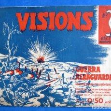 Militaria: VISIONS DE GUERRA I RERAGUARDA SERIE A Nº 3 LEER DESCRIPCION. Lote 171812069