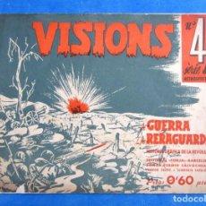 Militaria: VISIONS DE GUERRA I RERAGUARDA SERIE A Nº 4 LEER DESCRIPCION. Lote 171812434