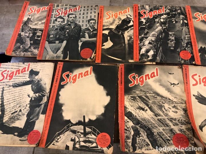 22 SIGNAL TRADUCIDOS AL ESPAÑOL (Militar - Revistas y Periódicos Militares)