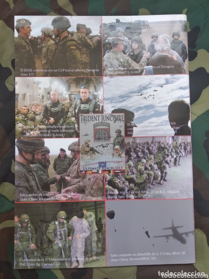 Militaria: Revista paracaidista del ejército - Foto 2 - 173525788