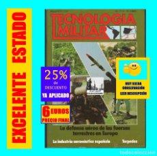 Militaria: REVISTA TECNOLOGIA MILITAR NÚM 4 1986 - DEFENSA AÉREA FUERZAS TERRESTRES EUROPA TORPEDOS - SEMINUEVA. Lote 173530530