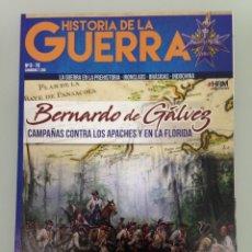 Militaria: HISTORIA DE LA GUERRA 8, BERNARDO DE GALVEZ,BATALLA DEL RIO FRIGIDO, VIKSBURG, TACTICA CELERE, NAJAF. Lote 174307558
