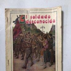 Militaria: LEGION ESPAÑOLA. AÑOS 20. PORTADA DE LEGIONARIO CON CARA DE FRANCO. ORIGINAL. . Lote 175193650