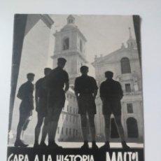 Militaria: ANTIGUA REVISTA MASTIL - BOLETIN MANDOS CAMPAMENTOS JUEVENTUDES FALANGE - 1955 - EL ESCUADRISMO, ASC. Lote 175838052