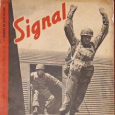 Militaria: REVISTA SIGNAL 1º NÚMERO JULIO 1941 SP Nº 13. Lote 176171354