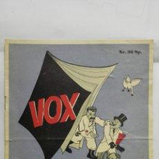 Militaria: VOX - REVISTA DE PROPAGANDA DE HUMOR ALEMANA, 1, JULIO, 1942 . Lote 177473570