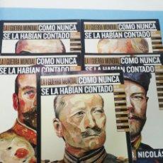 Militaria: LOTE DE 5 FASCICULOS LA I GUERRA MUNDIAL. NÚMEROS 2-3-4-5-6. Lote 177562639