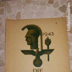 Militaria: REVISTA ARTE ALEMAN DIE KUNST IM DEUTSCHEN REICH , AÑO 1943.EPOCA III REICH. Lote 177593715