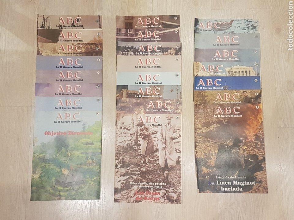 LOTE 23 FASCICULOS ABC - II SEGUNDA GUERRA MUNDIAL (Militar - Revistas y Periódicos Militares)