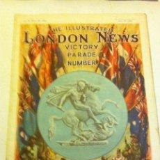 Militaria: 2ª GUERRA MUNDIAL - Nº. VICTORY PARADE - LONDON NEWS (JUNE 15-1945) - EJEMPLAR RARÍSIMO. Lote 178135014