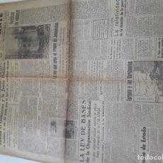 Militaria: DIARIO LEVANTE 1940 FALANGE II GUERRA MUNDIAL. Lote 178342431